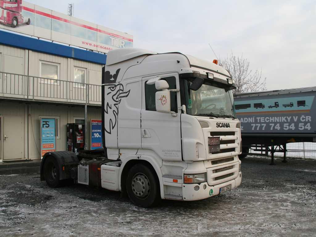Scania R 420 KOMPRESOR+ HYDRAULIKA