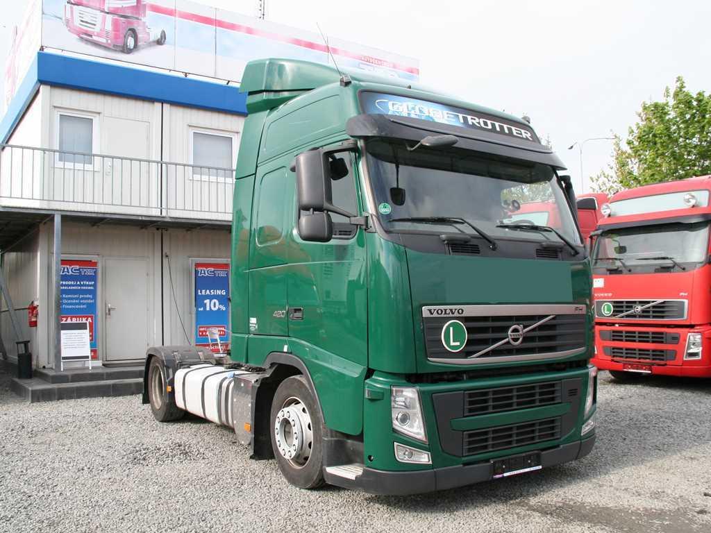 Volvo FH13 420 42T EURO 5, LOWDECK