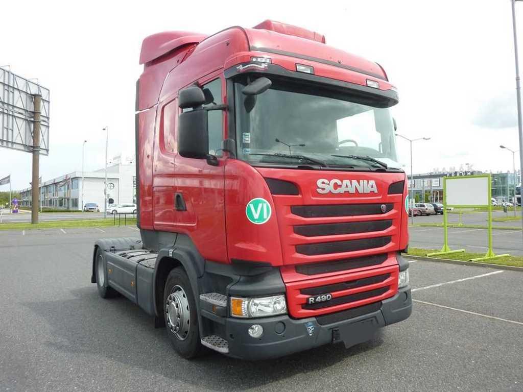 Scania R 490 EURO 6, HIGHLINE, RETARDER