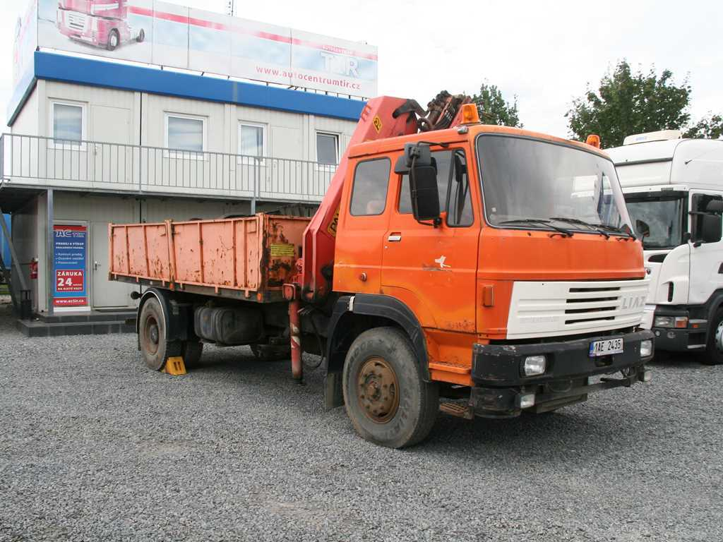 Liaz 110.052 PALFINGER PK 10500