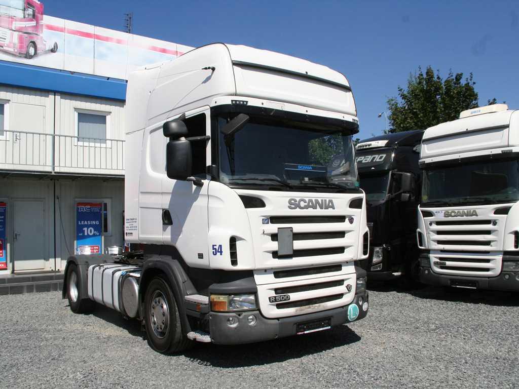 Scania R500 LA4X2 MANUAL RETARDER TAHAČ NAVESU