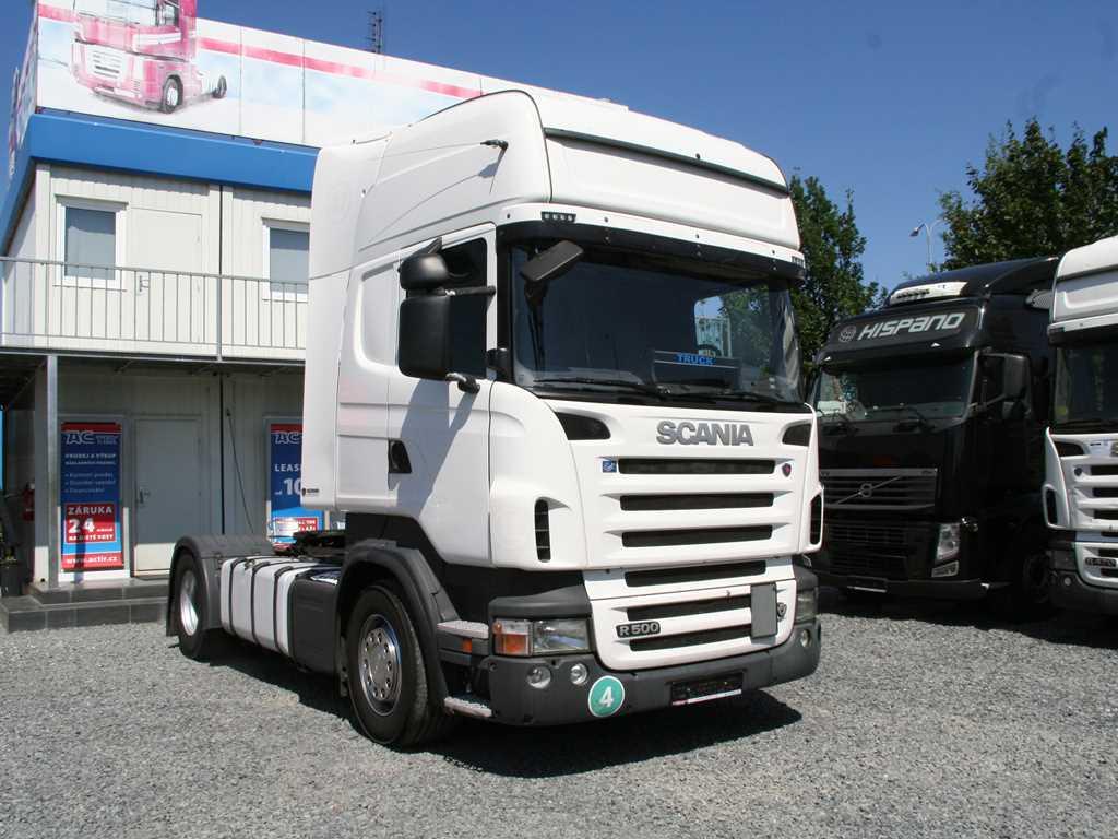 Scania R 500 RETARDÉR, STARDARD