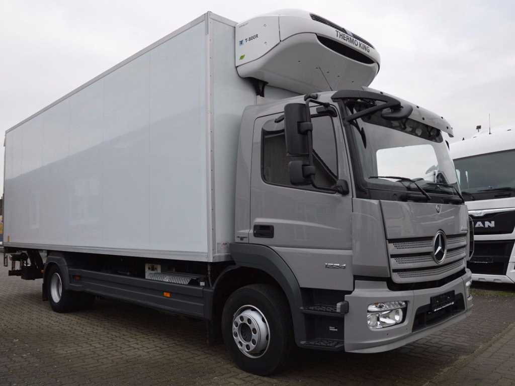 Mercedes-Benz ATEGO 1224 L  MRAZÁK THERMO KING T 800 R (DIESEL+E