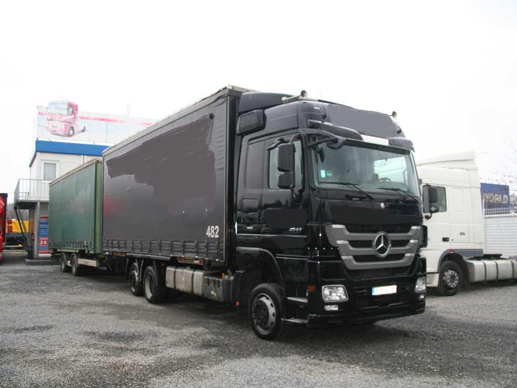 Mercedes-Benz ACTROS 2544 L 6x2 EURO 5 EEV, RETARDER