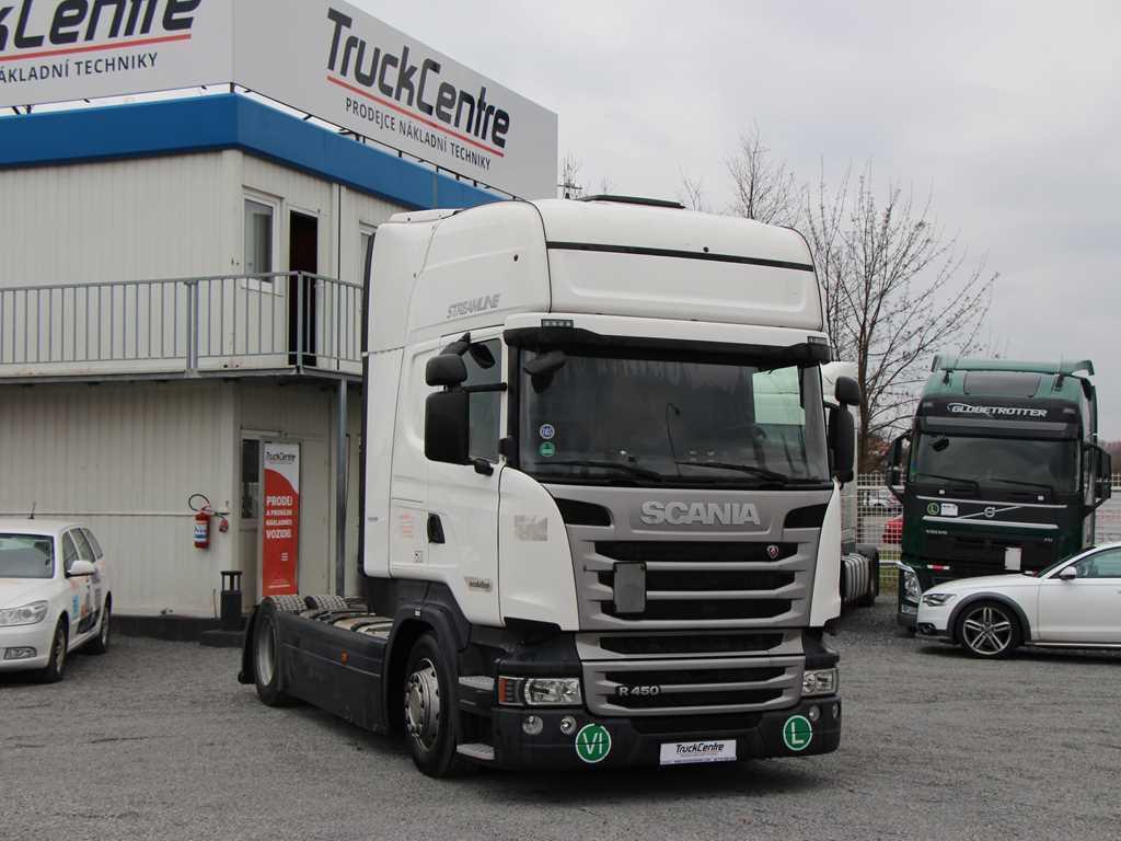 Scania R450 EURO 6, RETARDER, LOWDECK