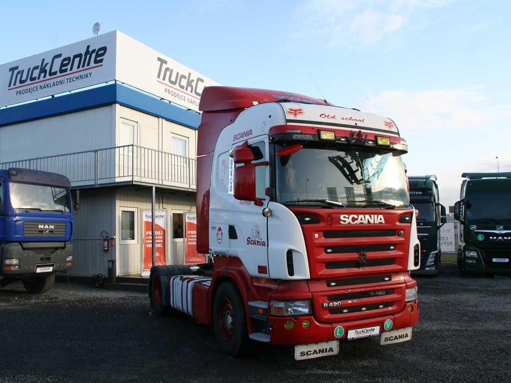 Scania R420 , HIGHLINE , STANDARD TAHAČ NÁVĚSŮ , EURO 5 ,