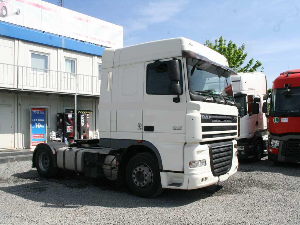 DAF XF105.460,EURO5 NÁKLADNÍ  AUTOMOBIL CHLADÍRENSKÝ ,