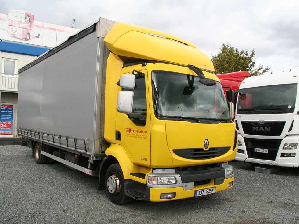 Renault MIDLUM 220.12 NÁKLADNÍ AUTOMOBIL VALNÍKOVÝ