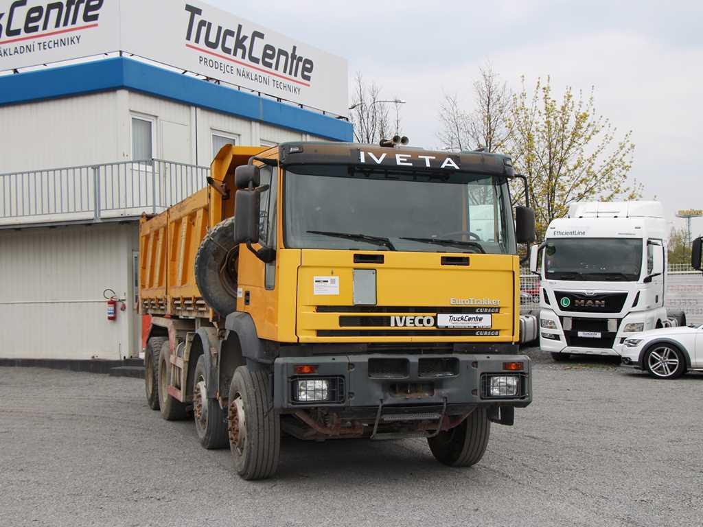 Iveco TRAKKER 440H 8x4 NÁKLADNÍ AUTOMOBIL SKLÁPĚCÍ , POH