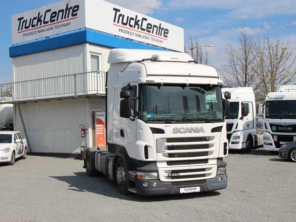 Scania R420,EURO 5 EEV HIGLINE STANDARD, EURO 5 EEV, PŘEV