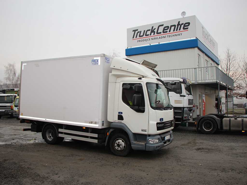 DAF LF 45.220 7,5t AGREGÁT THERMO KING, EURO 5 EEV, HY