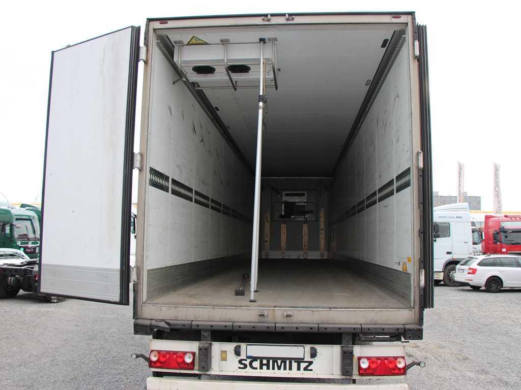 Schmitz SCB S3B NÁKLADNÍ NÁVĚS CHLADÍRENSKÝ , CARRIER MAXI