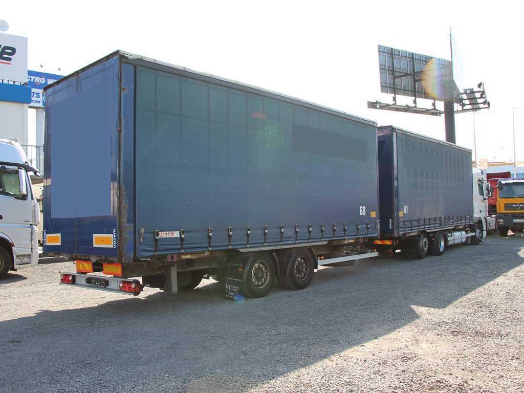 DAF XF 105.460 + VLEK  HIPOCAR HTK18 BDF, RETARDÉR, EU