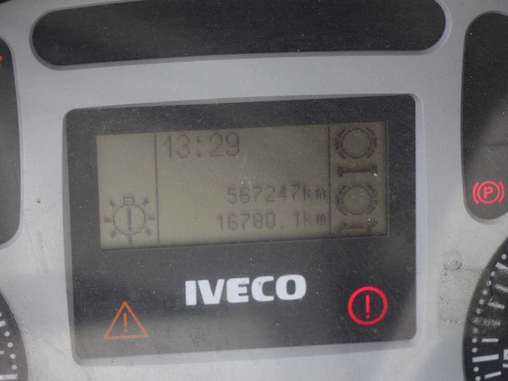 Iveco ML 120E24 EURO 3, 4X2, HYDRAULICKÉ ČELO