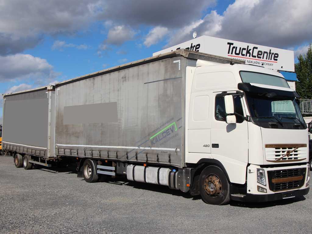 Volvo FH 13 420 EURO 5, 120 cbm  SOUPRAVA
