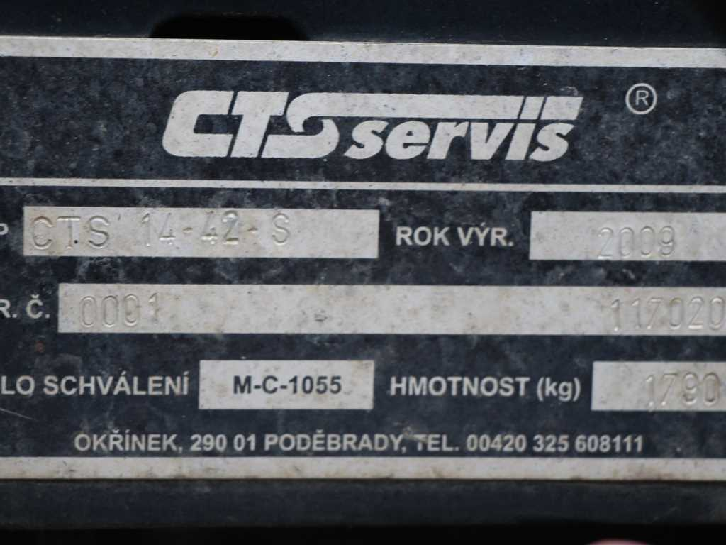 Tatra T 815 6x6/2 NÁSTAVBA OKŘÍNEK