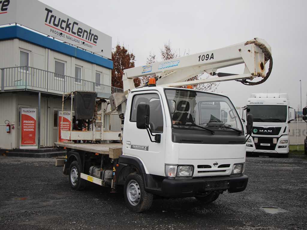 Nissan CABSTAR TL1-95.32/1 PRACOVNÍ PLOŠINA EL. POHON 220
