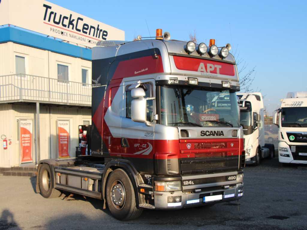 Scania R 124.400 STANDARD, EURO 2, CHIP NA 460