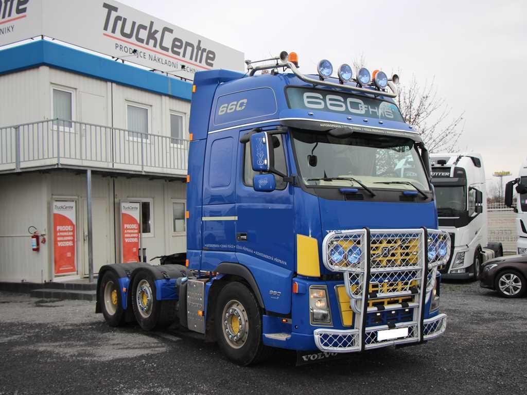 Volvo FH 16 660 62 T EURO 4, 6x2, DVOUOKRUHOVÁ HYDRAULIK