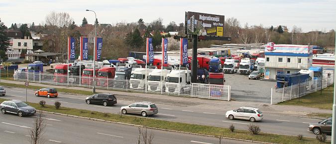 Sprzedaż samochodów ciężarowych i technologii transportu